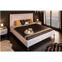 Luxusná posteľ Royalty 180x200cm biela