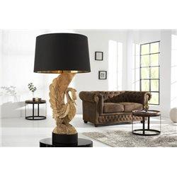 Nočná lampa Swan akácia