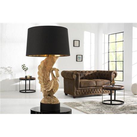 Stolná lampa Swan acaciová