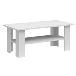 Drevený konferenčný stolík Maxim 120 cm biely