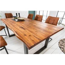 Jedálenský stôl pre 6 a viac osôb Berlin 200 cm masív agát