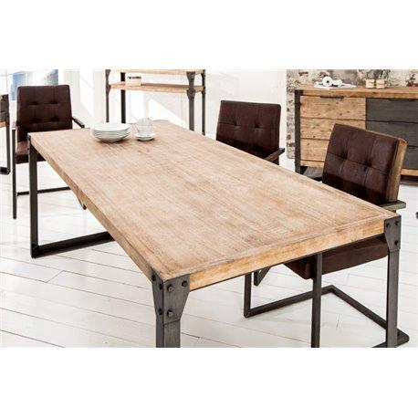 Jedálenský stôl industriálny 200 cm