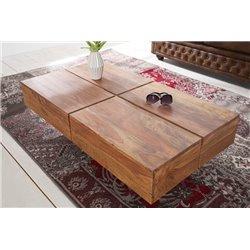 Konferenčný stolík Bolt 110 cm sheesham