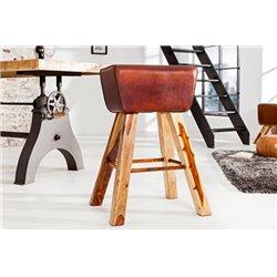 Barová stolička Bock koža