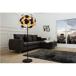 Stojanová lampa Myriad 170 cm čierna, zlatá