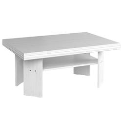 Konferenčný stolík Agnes 120 cm biely sosna andersen