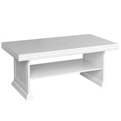 Konferenčný stolík Agnes 125 cm biely sosna andersen