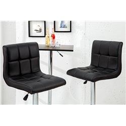 Barová stolička Modena 90-115cm čierna (2ks)