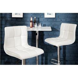 Barová stolička Modena biela (2ks)