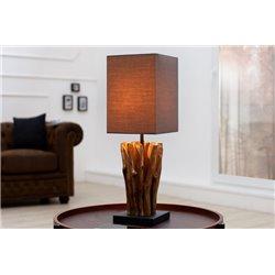 Nočná lampa Sirocco šedá-hnedá (2ks)