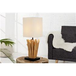 Nočná lampa Sirocco biela (2ks)