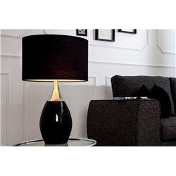 Nočná lampa Carla 60 cm čierna