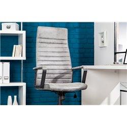 Kancelárska stolička Lazio High gray vintage