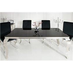 Jedálensky stôl Baroco čierny 200cm