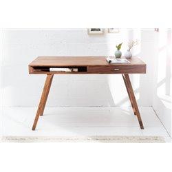 Písací stolík Retro Futurist 120 cm masívny sheesham