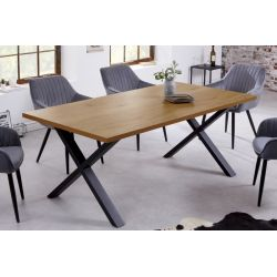 Jedálenský stôl Studio 160 cm dubový vzhľad prírodný
