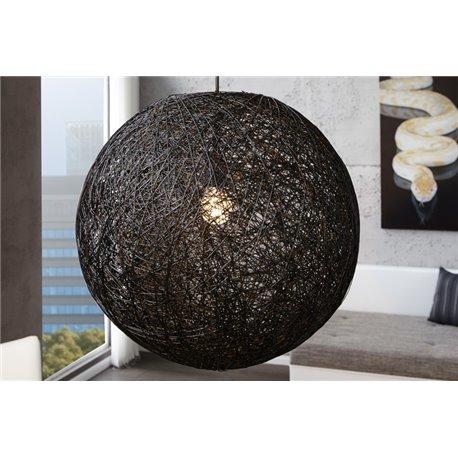 Luster Cocoon 60 cm čierny