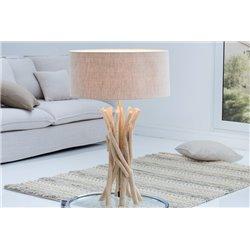 Nočná lampa Cara driftwood natural