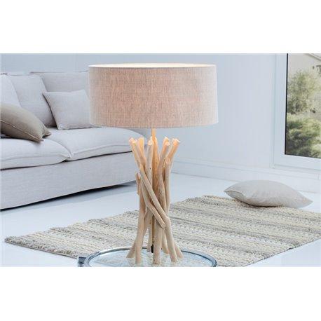 Stolová lampa Cara driftwood natural