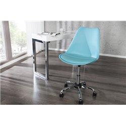 Kancelárska stolička Scandinavia II tyrkysová