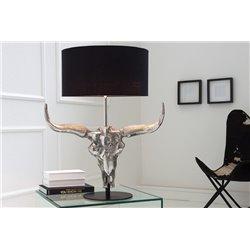 Nočná lampa El Toro 68 cm čierna