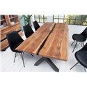 Masívny jedálenský stôl pre 6 a viac osôb Meridian 200 cm drevo akácia