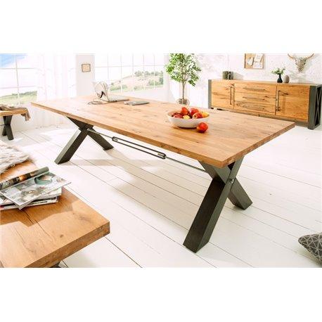 Jedálenský stôl 240 cm divoký dub