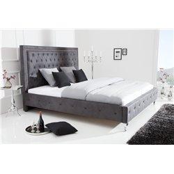 Luxusná posteľ Royalty 180x200cm sivá