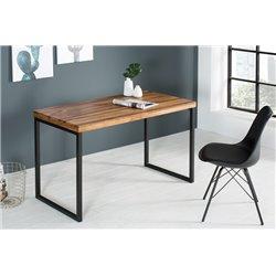 Pracovný stôl Fusion 118 cm masívny sheesham prírodný