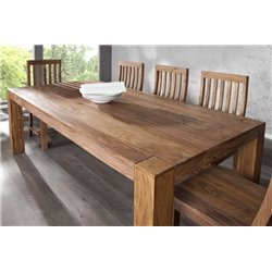Jedálensky stôl Mandalle 200 cm sheesham