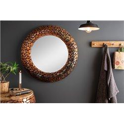 Zrkadlový kameň mozaika 82 cm meď
