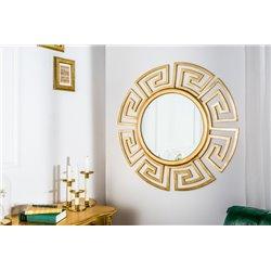 Nástenné zrkadlo Sirocco 85 cm zlaté