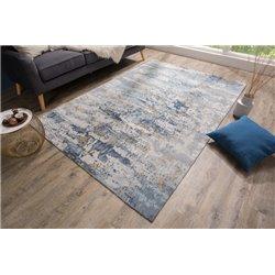 Koberec Abstrakt 240 x 160 cm modrá