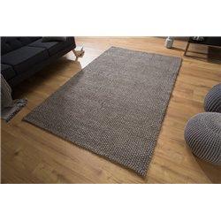 Koberec Wool 250 x 155 cm antracit