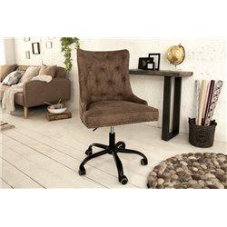 Kancelárska stolička Viktorián hnedá