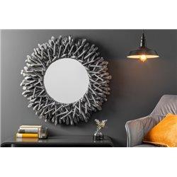 Závesné zrkadlo Riverside 80 cm driftwood šedé