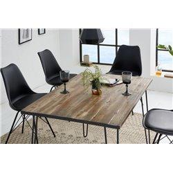 Jedálenský stôl Scorpion 120cm hnedá akácia
