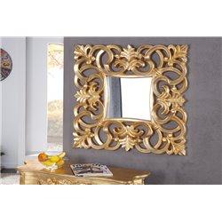 Luxusné zrkadlo na stenu Venice 75cm zlatá