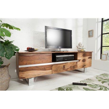 TV stolík mamut 160 cm Sheesham