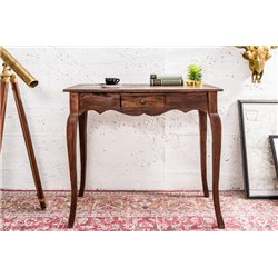 Stôl Hemingway 80 cm prírodný mahagón