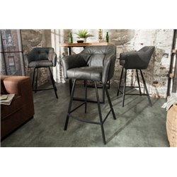 Barová stolička Studio antická šedá