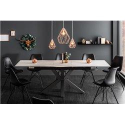 Jedálenský stôl Eternity 180-225 cm betónová keramika