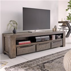 TV stolík Tango 170 cm šedý mango