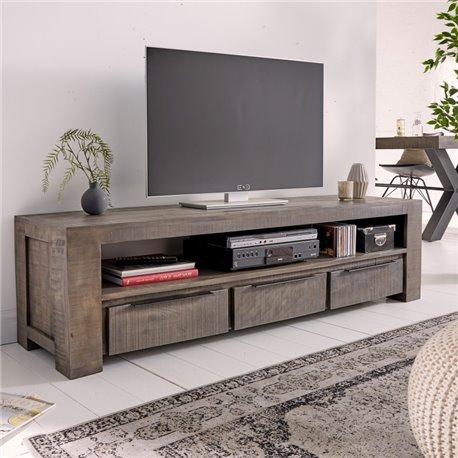 TV stolík Iron Craft 170 cm šedý Mango