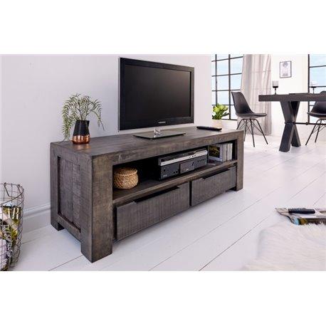 TV stolík na nožičkách Tango 130 cm šedý mango