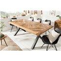 Jedálenský stôl Myriad 160 cm prírodný Mango