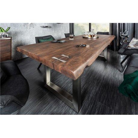 Jedálenský stôl Mammut Artwork 200 cm Acacia