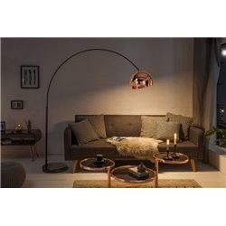 Stojacia lampa Big Bow 170-210 cm ružová