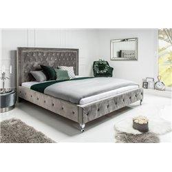 Luxusná posteľ Royalty 160x200cm strieborná