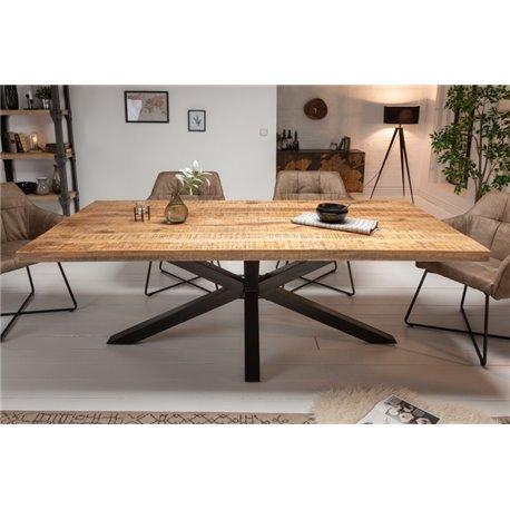 Jedálenský stôl pre 4 a viac osôb Galaxia 180 cm masív